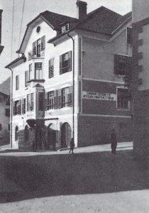 Gerätehaus bis 1984