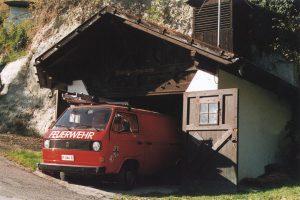 Gerätehaus und Fahrzeug Mitterterz